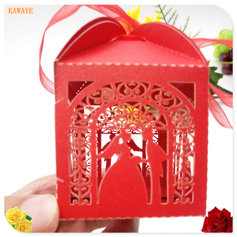 Halloween Wedding Gift Ideas: 50pcs Wedding Gifts Gift Boxes Birthday Party Hollow