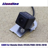 Liandlee CAM Car Reverse Reversing Parking Camera For Honda Civic (FC3S/FK8) 2016 2018 / Backup Camera HD CCD Night Vision