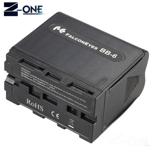 Image 3 - BB 6 6pcs AA Battery Case Pack Battery Holder Power as NP F NP 970 Series Battery for LED Video Light Panel / Monitor