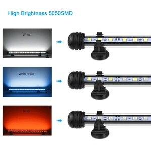 Image 5 - AIMENGTE 110V 220 220v 水族館の水槽ランプ RGB LED ハードストリップバー照明 19 センチメートル 29 センチメートル 39 センチメートル 49 センチメートル IP68 防水装飾ランプ