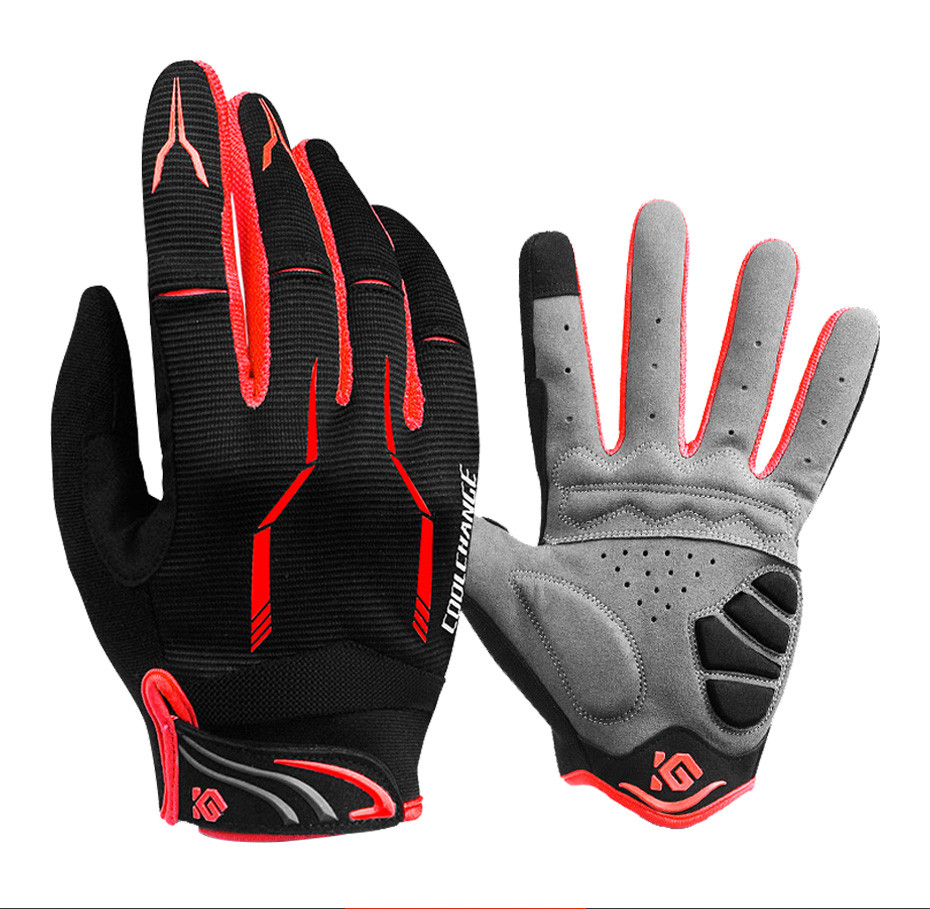 Details about  /Winter Cycling Gloves Touch Screen Full Finger Gloves Sport MTB Bike Bicycle Man