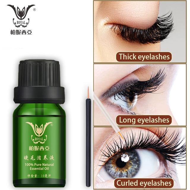 Eyelash Enhancer Eyelash Serum Eyelash Growth Serum Treatment Natural Eye Lashes Mascara Lengthening Longer
