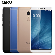 Original Qiku 360 N6 Mobile Phone 5.93inch Full Screen 6GB RAM 64GB ROM Snapdragon 630 Octa Core Dual SIM Fingerprint Smartphone