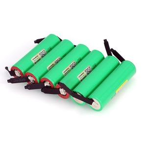 Image 5 - LiitoKala New Original 18650 2500mAh battery INR1865025R 3.6V discharge 20A dedicated batteries + DIY Nickel sheet