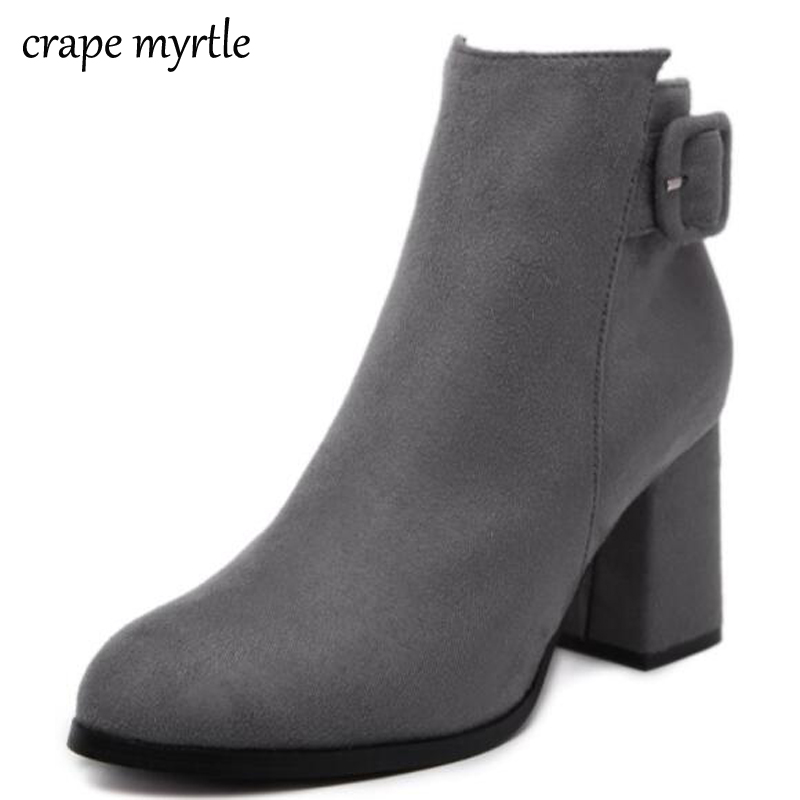 sexy boots Snow shoes Women Boots women pointed Toe Winter shoes Ankle Boots Ladies Party Western Stretch Fabric Boots YMA28