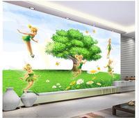 3d wall custom murals non-woven wallpaper Small elf children's room wall beauty wall 3d room wallpaper