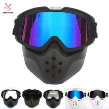 Shark Motorcycle Helmet Glasses UV400 Motorcross Goggles Retro Windproof Vintage hot Openface Harley Helmets Mask
