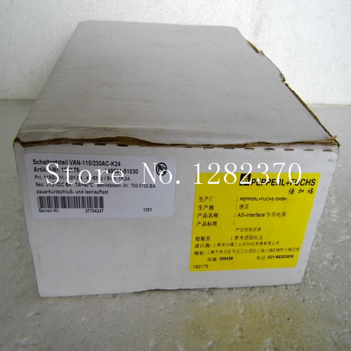все цены на [SA] New original authentic special sales P + F Power VAN-115 / 230AC-K24 spot онлайн