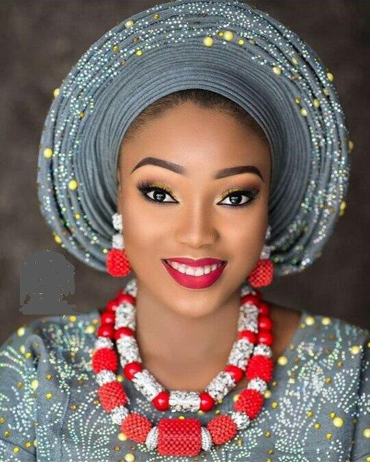 Takı ve Aksesuarları'ten Takı Setleri'de Kırmızı Mercan takı seti s Kadın için Fantastik Kırmızı ve Gümüş Nijeryalı Düğün Hediye Mercan Boncuk Kolye takı seti Gelinler için GA514'da  Grup 1