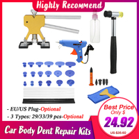 NEW Paintless dent repair tools Dent Repair Kit Car Dent Puller with Glue Puller Tabs Removal Kits for Vehicle Car Auto body