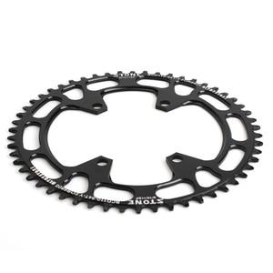 Image 2 - Каменная круглая одинарная звезда BCD 110 мм BCD110 для дорожного велосипеда, складная звезда для велосипеда 105 5800 6800 Ultegra 4700 Tigra 9000