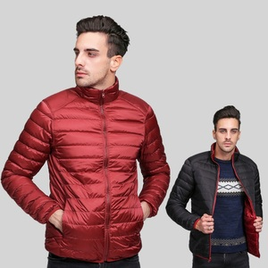 Image 3 - NewBang Brand Ultralight Down Jacket Men Down Coat Male Autumn Winter Double Side Feather Reversible Windproof Lightweigt Parka