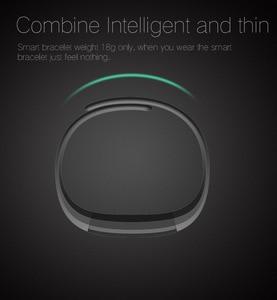 Image 3 - Bluetooth スマート歩数計睡眠トラッカーためケットボールリストバンドスポーツフィットネストラッカー腕章コールリマインダリモコンソーシャルメディア