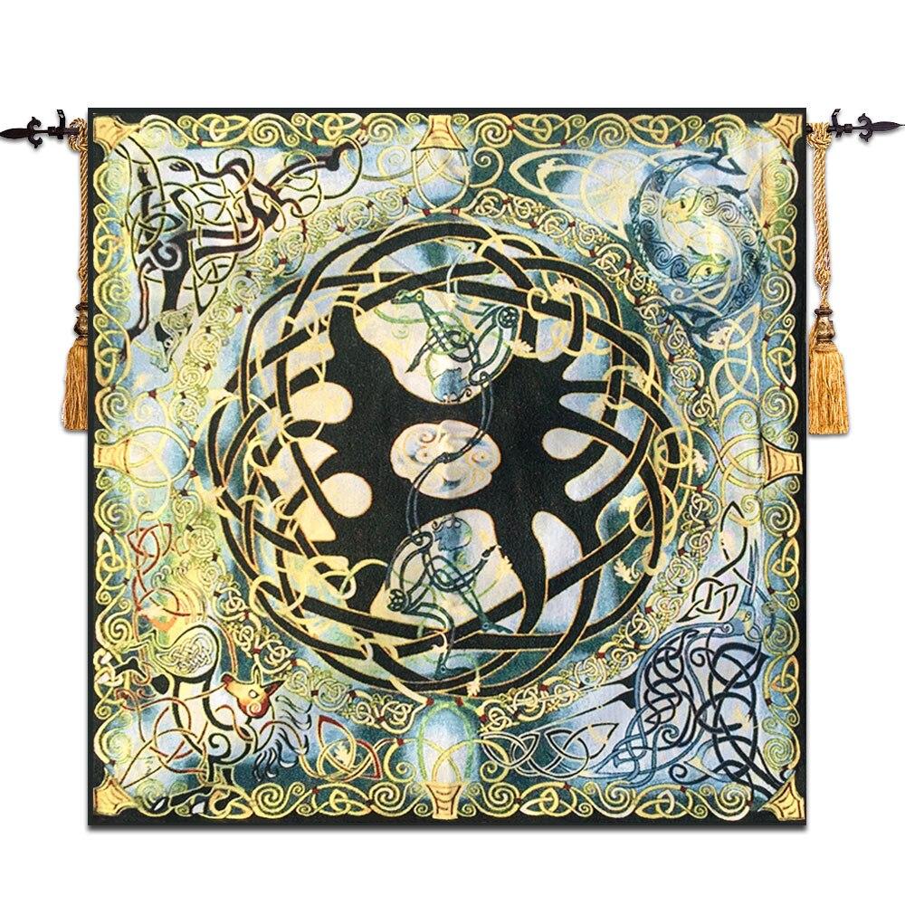 Us 52 5 25 Off Celtic Tree Of Life Wall Tapestry Gobelin Moroccan Decor Meval Belgium Mandala Hanging Taerie Wandkleed Tapiz Pared In