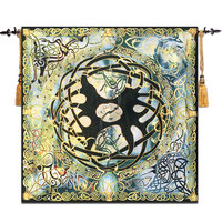 Celtic tree of life Wall Tapestry Gobelin Moroccan Decor Medieval Belgium Mandala Wall Hanging tapisserie wandkleed tapiz pared