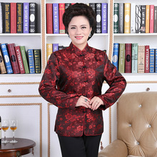 Chinese Traditional Dress Tang Costume Cheongsam top MJ0006-3 Lovers Dress Too Longevity Wedding Banquet Serve Birthday