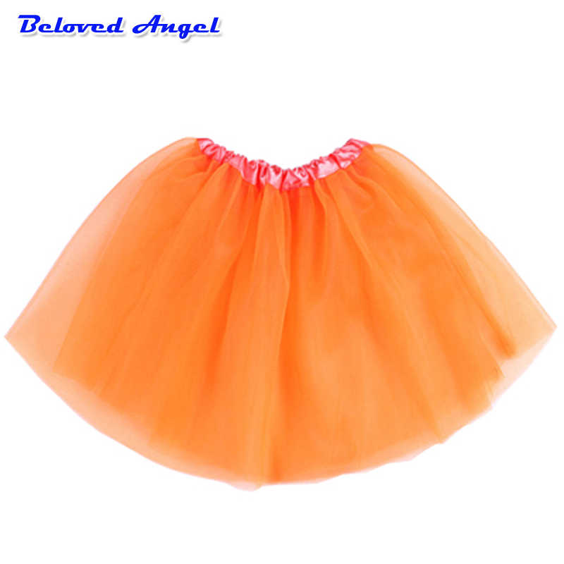 2019 enfants fille jupes princesse Tutu jupe danse ballerine pettijupes bambin moelleux Ballet jupe pour filles fête Tulle mini-jupe