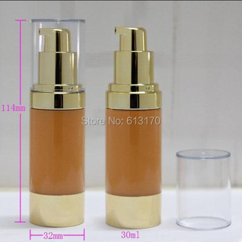 20pcs  New Arrival 30ml airless bottle,1OZ Empty Cosmetic vacuum pump bottles, Eye cream packing container Free shipping