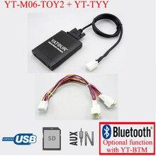 Yatour per Lexus RX 480 RX 300 RX 330 RX 350 2004-2009 Con cavo a Y navi Car stereo USB SD Lettore MP3 Adattatore Bluetooth 6   6 pin