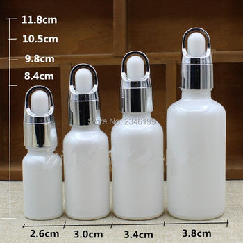 10ml 20ml 30ml 50ml,20pcs Glass Dropper Bottle,Liquid Bottles Vials Essential oil Pipette Container,Empty Cosmetic Packaging