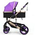 Belecoo coche de bebé de cuatro ruedas del cochecito de bebé amortiguadores luz cochecito de bebé