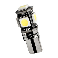 Торговля шины Canbus T10 5smd 5050 светодиодный Автомобильный светодиодный светильник с can-bus W5W 194 5050 SMD ОШИБОК белый светильник лампы