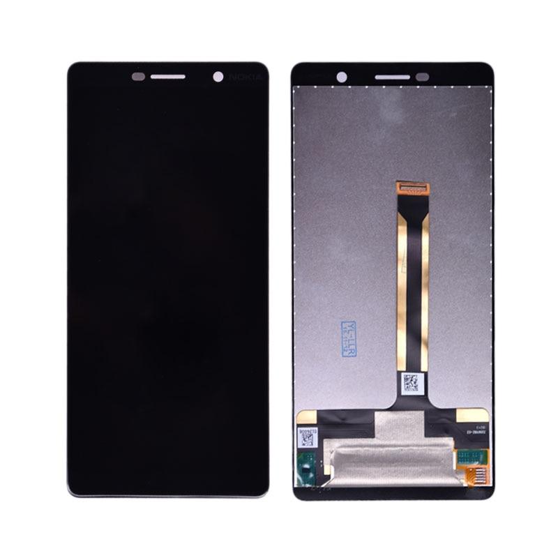 6.0 Affichage D'ORIGINE pour Nokia 7 Plus LCD 7 Plus Affichage Écran Tactile TA-1062 LCD Digitizer Replacment pour Nokia E7 Plus LCD