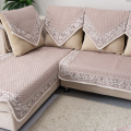 quality linen fabric sofa towel slip-resistant genuine leather sofa towel four seasons fluid sofa  towel
