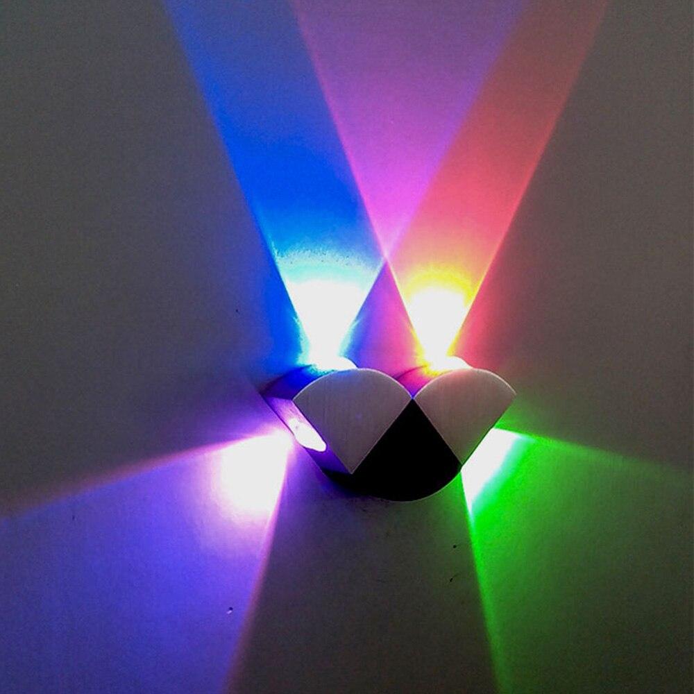 LED nástěnné svítidlo 4W motýlek Nástěnné osvětlení Vnitřní osvětlení AC85-265V Vysoká kvalita a vzhled pro dekoraci Nástěnné světlo DA