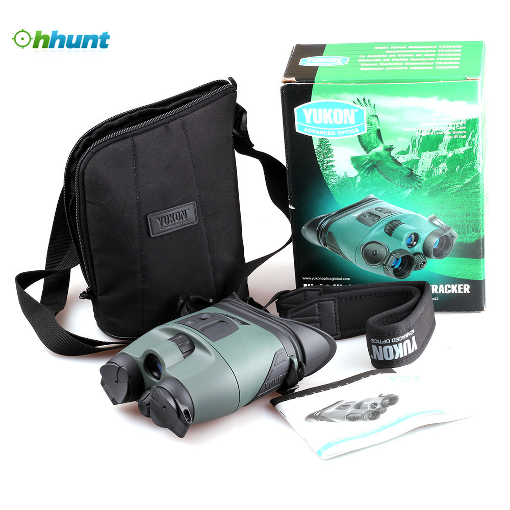 Yukon NV Binoculars Tracker 2x24 Pro Tactical Infrared Night Vision Binoculars Scope For Night Hunting бинокль yukon pro 16x50 без с ф