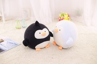 cute plush penguin toy new soft black or blue penguin doll gift about 30cm
