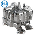 MU Metal 3D Puzzle Star Craft Terran UMC-N01 DIY Corte Láser 3D Ensamblar Juguetes Modelo de Construcción de Cuarteles Para la Auditoría