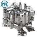 MU Metal 3D Puzzle Star Craft UMC-N01 Quartel Terran Modelo de Construção DIY 3D Montar Brinquedos Para Auditoria de Corte A Laser