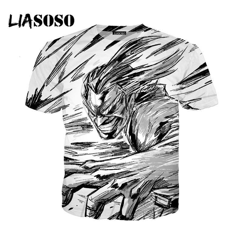 LIASOSO NEW Anime Boku No Hero My Hero Academia Cosplay Tees 3D Print t shirt/Hoodie/Sweatshirt Unisex Good Quality Tops G1371