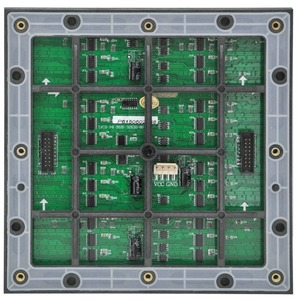 Image 2 - Free shipping  rgb dot matrix module led p6 32x32 full color hub75 1/8S  for outdoor led tv wall