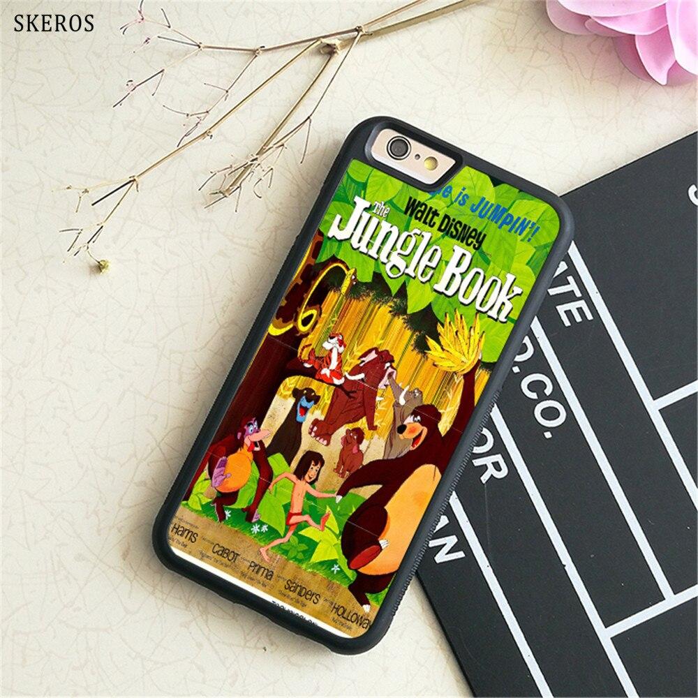 SKEROS The Jungle Book phone case for iphone X 4 4s 5 5s 6 6s 7 8 6 plus 6s plus 7 & 8 plus #B730