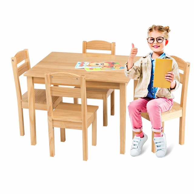 5 Piece Children's Table/Chair Set  3