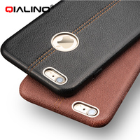 For IPhone 6 6S 4 7 Case QIALINO Fashion Genuine Leather Phone Case For IPhone 6
