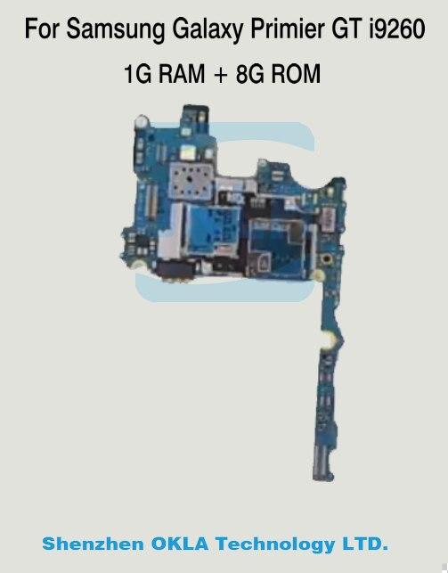 imágenes para 1 unids para samsung galaxy premier i9260 wcdma 1 gb ram 8 gb rom sustitución de la placa lógica motherboard usado original