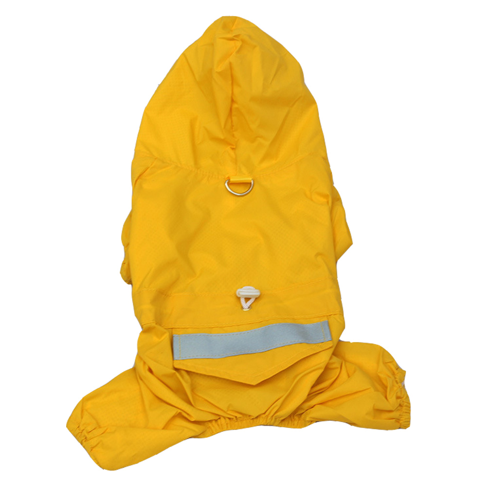 Superior Pet Raincoat With Hood Dubbelskikt vattentät design hund - Produkter för djur - Foto 5