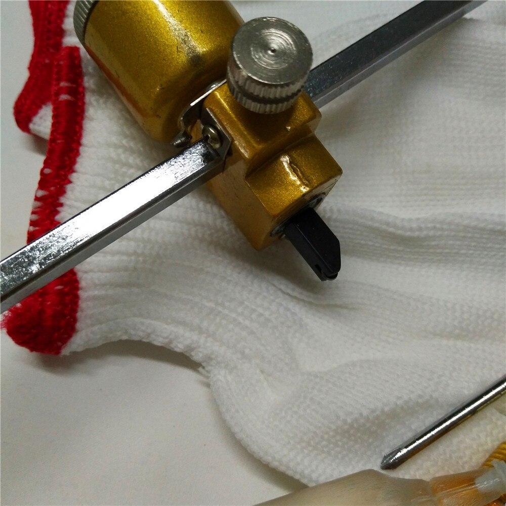5tk / komplekt 40cm klaasist kompassi nuga Suitsulambimustmasina - Ehitustööriistad - Foto 3