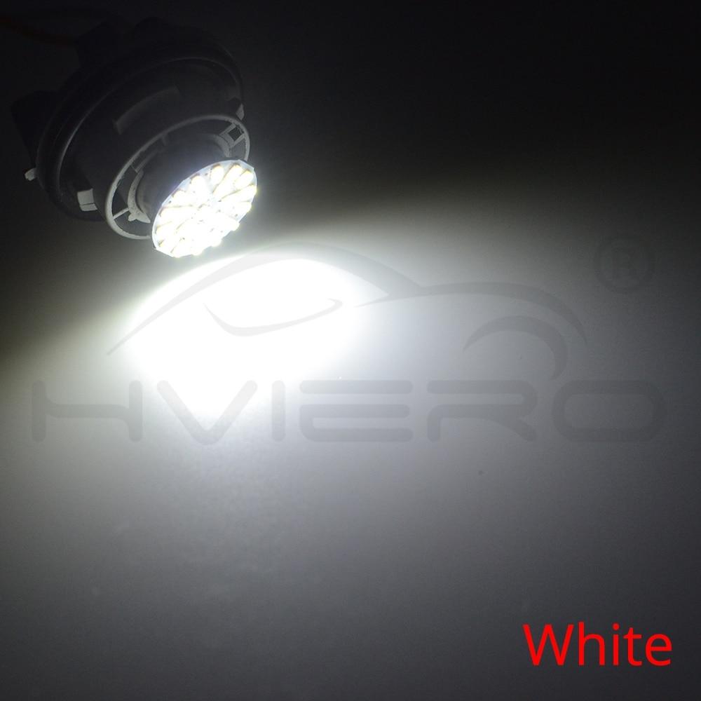1157 BAY15D 1156 BA15S 3014 22SMD Car Led P21W AUTO LED Brake Auto Front Parking Brake Lamp Backup Wedge Lamp Tail Bulb DC 12V