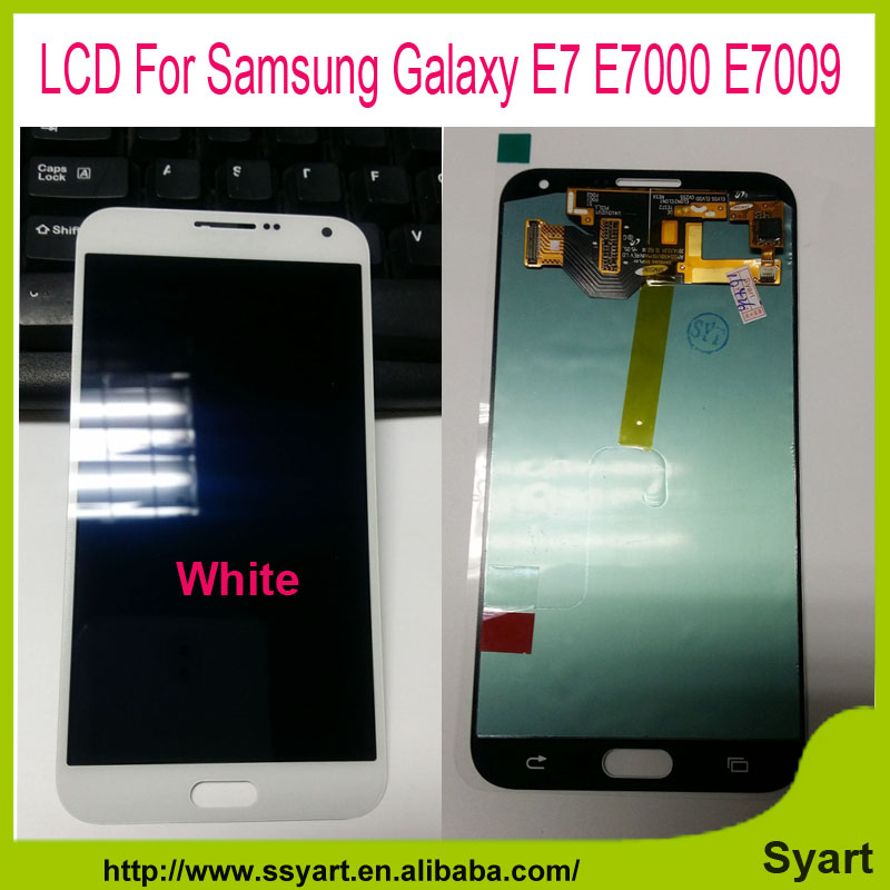 E7 LCD Complete Replacement lcd screen with touch digitizer For Samsung Galaxy E7 E7000 E7009