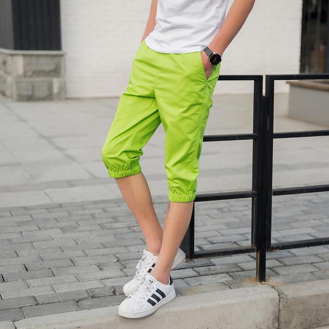 Plus tamaño 4XL de los hombres harén Nuevos 2016 hombre pantalones cargo 10 colores flojos ocasionales pantalones pantalon homme basculador MQ88