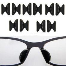2 пары силиконовых мягких наклеек, противоскользящие носовые упоры для очков, солнцезащитных очков