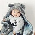Cute bear Мягкие Одеяла Детские Полотенца Животных Форма Полотенце С Капюшоном Прекрасный Ребенок Полотенце Высокое Качество С Капюшоном Ребенка Халат