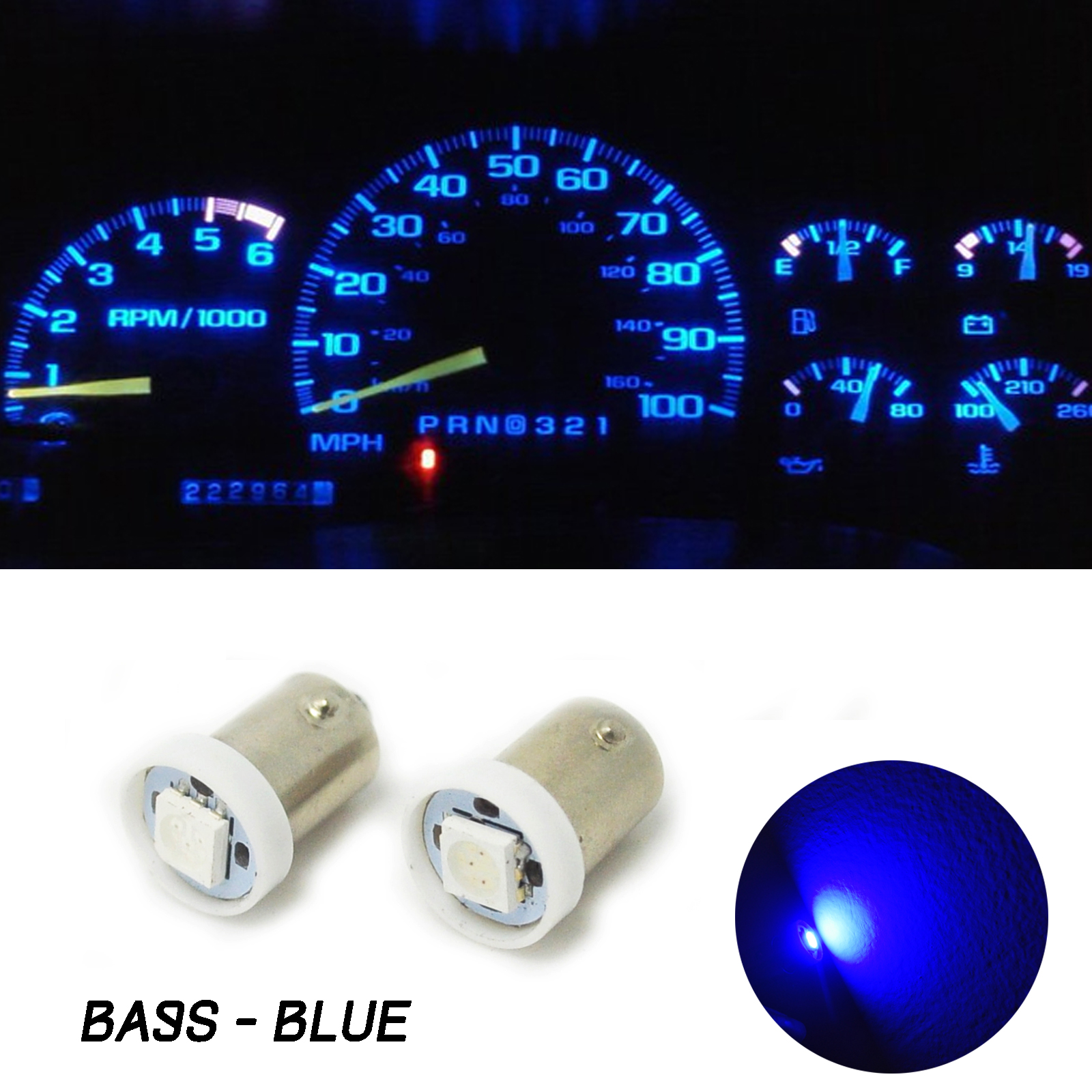 10pcs BA9S 5050 SMD Car LED Dashboard Light Gauge Cluster Bulbs H6W H21W Q65B T4W M8617 jewellery