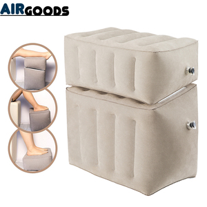 Image 1 - Inflatable Dismountable Footrest Pillow Kids Flight Footrest Pillow Separate As 3 Different Heights Travel Pillow Foot Pad