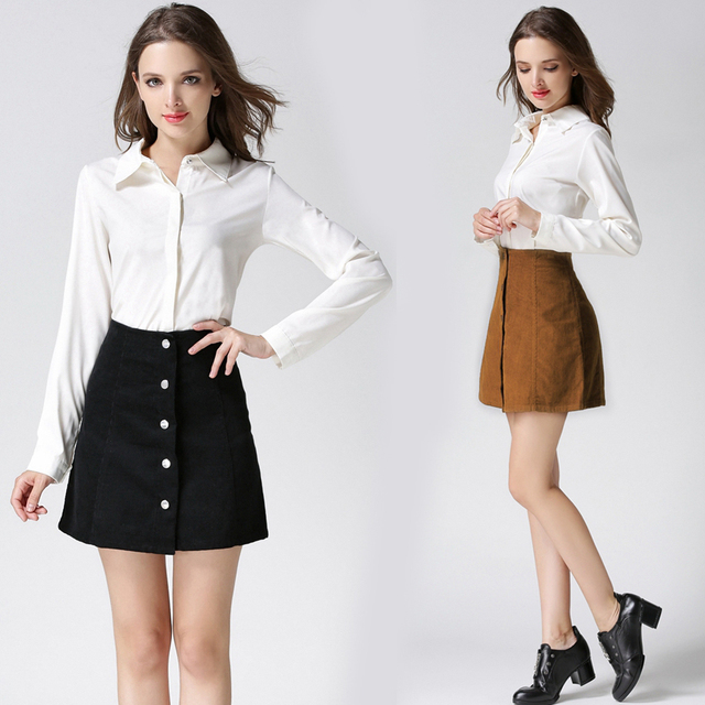 Short A Line Skirt - Dress Ala
