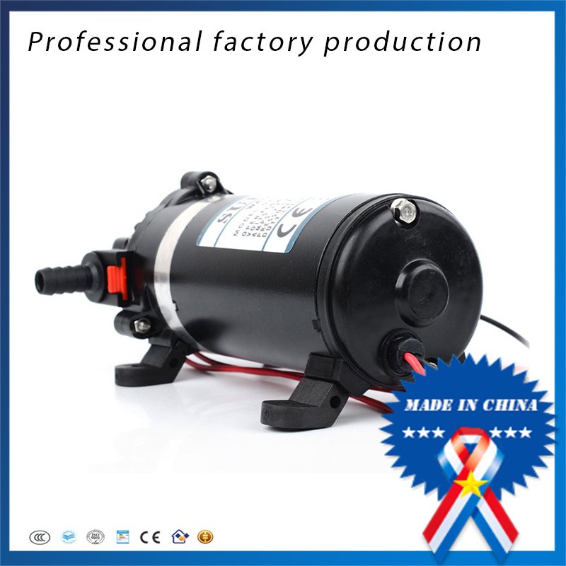free shipping DP-160 24v Portable Electric High Head High Pressure Reciprocating Booster Diaphragm Pump 9 19free shipping dp 80 diaphragm pump
